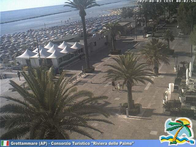 Webcam Grottammare - Consorzio Turistico Riviera delle Palme